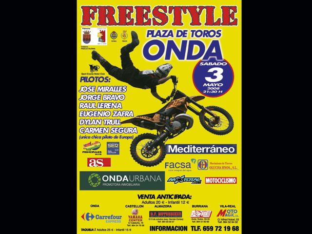 Miralles y Zafra en el Freestyle Onda 2008