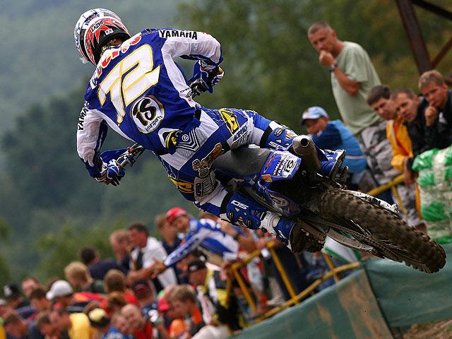 Barragán en el podio