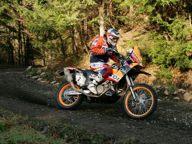 Marc Coma (KTM) abandona el Rally de Europa Central