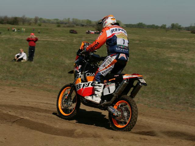 Pellicer (Yamaha), séptimo tras la segunda etapa de las Dakar Series