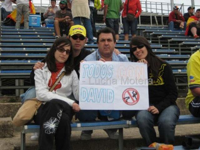 Lucha Motera: 100 fotos para David
