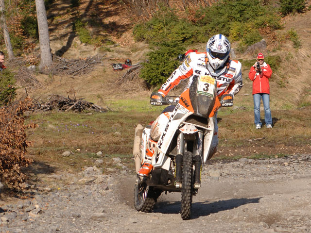 Cyril Despres (KTM) entra en escena en las Dakar Series
