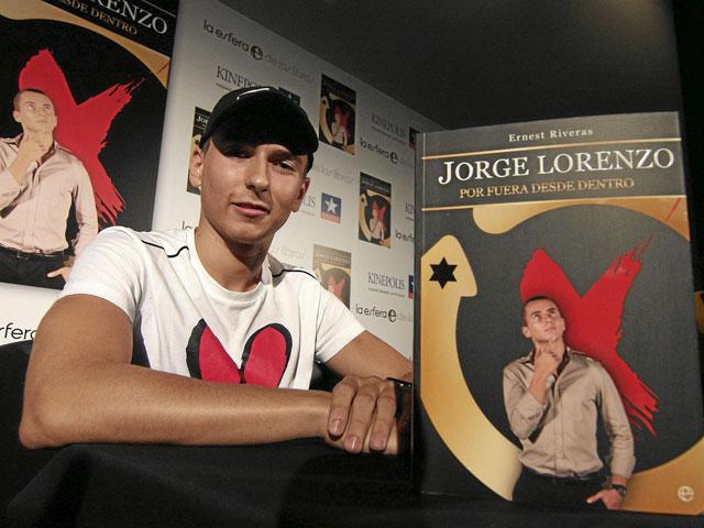 Imagen de Galeria de Jorge Lorenzo celebra el Día del Libro