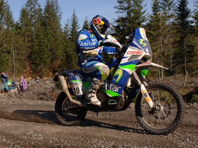 Golpe de autoridad de David Casteau (KTM) en las Dakar Series