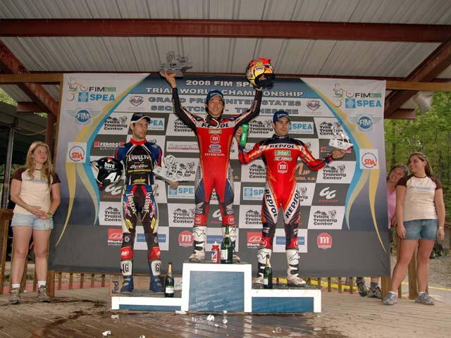 Fujinami (Montesa Honda), victoria en el trial de Estados Unidos