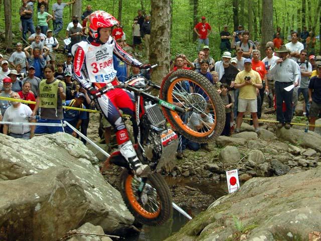 Imagen de Galeria de Fujinami (Montesa Honda), victoria en el trial de Estados Unidos