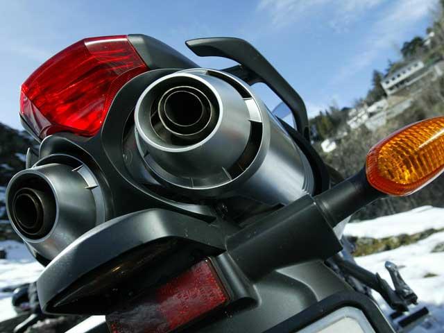 Mantenimiento moto: sonido de escape