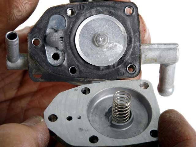 Mantenimiento moto: Grifo de combustible