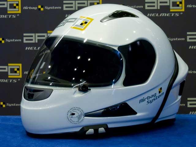 Casco con airbag de APC Systems