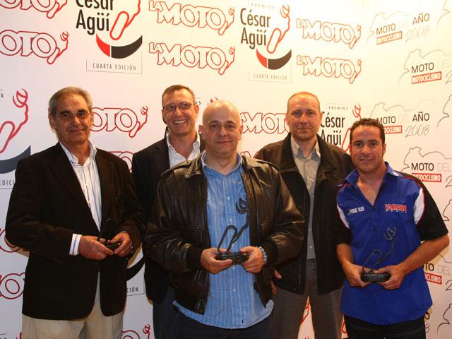 MotOh! 2008: Entrega de los Premios César Agüí