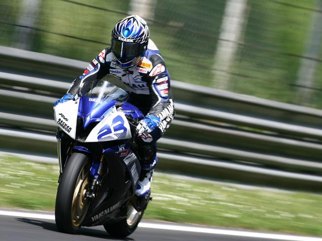 Imagen de Galeria de Foret (Yamaha) primero. Brookes (Honda) y Parkes (Yamaha) completan el podio