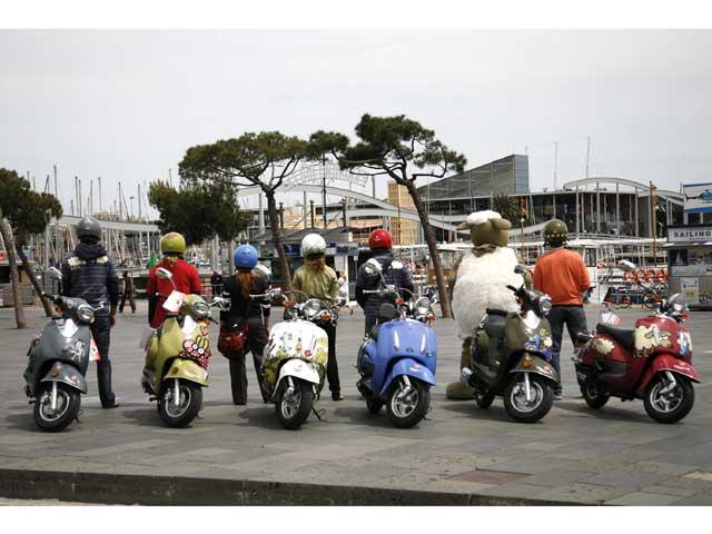 Kukuxumusu llega a los scooter de Cooltra