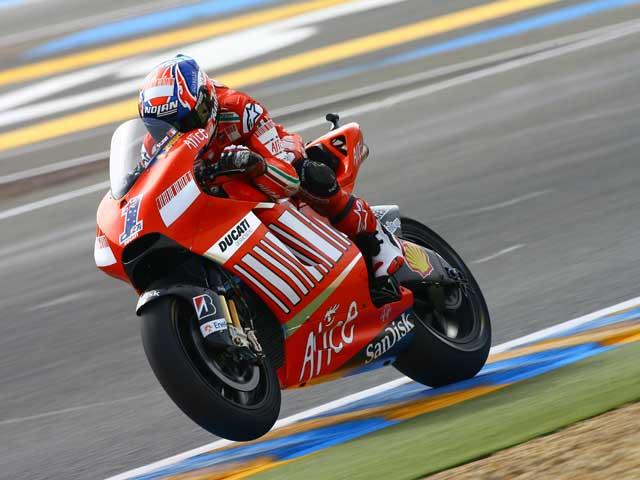 Dani Pedrosa (Honda) ejerce de líder en Le Mans