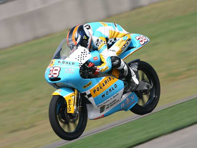 Sergio Gadea (Aprilia), el más rápido del viernes