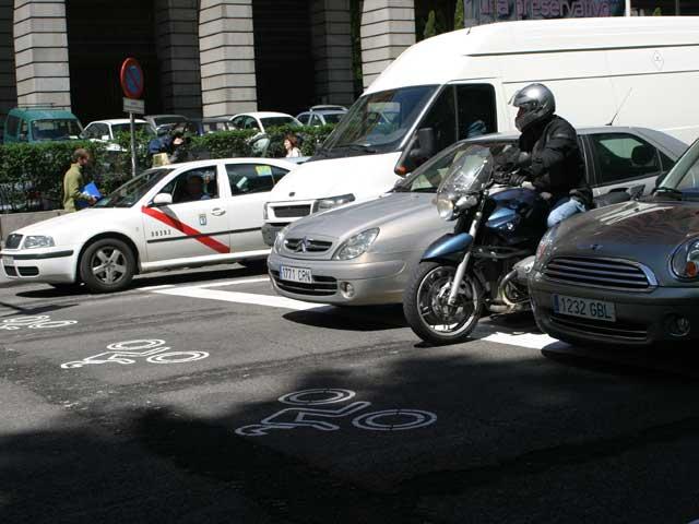 """Imagen de Galeria de El plan """"Avanza Moto"""" llega a Madrid"""