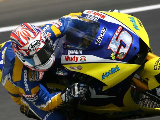 Imagen de Galeria de Valentino Rossi (Yamaha), victoria y liderato. Iguala las 90 victorias de Nieto