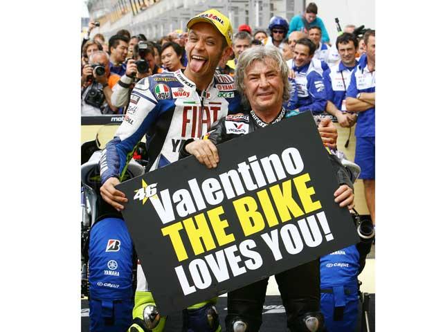 """V.Rossi (Yamaha): """"Llegar al récord de 90 victorias de Ángel Nieto es un sueño"""""""