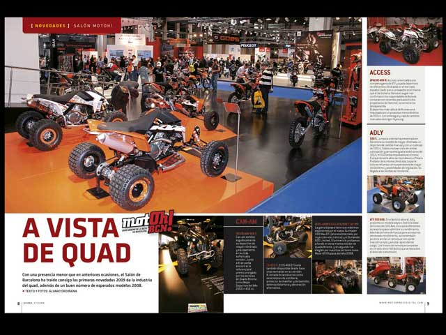 Imagen de Galeria de Nuevo número de Quads Xtreme, en tu kiosco