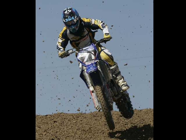 Álvaro Lozano (KTM) será baja en el Motocross de Murcia