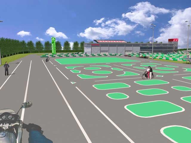 Imágenes del Instituto Honda de Seguridad Vial
