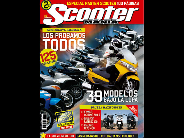 Master Scooter 125