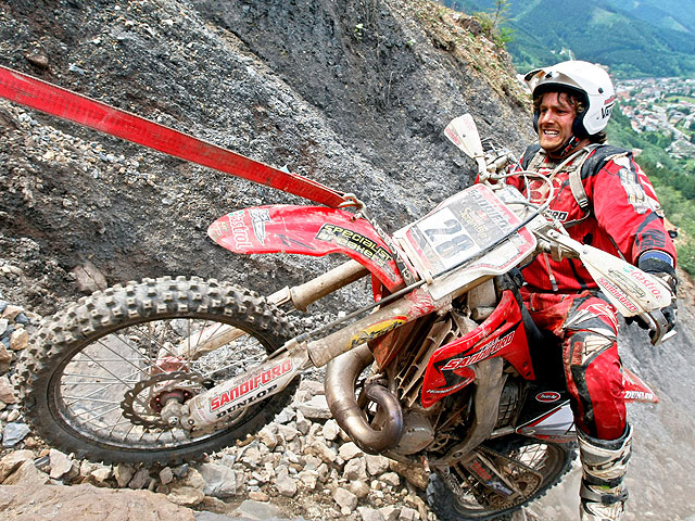 Blazusiak (KTM), vence el Red Bull Hare Scramble