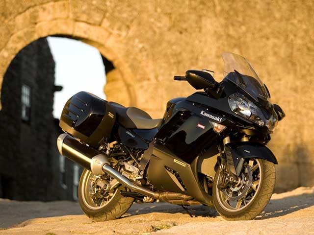 La Kawasaki 1400 GTR, con más accesorios y al mismo precio