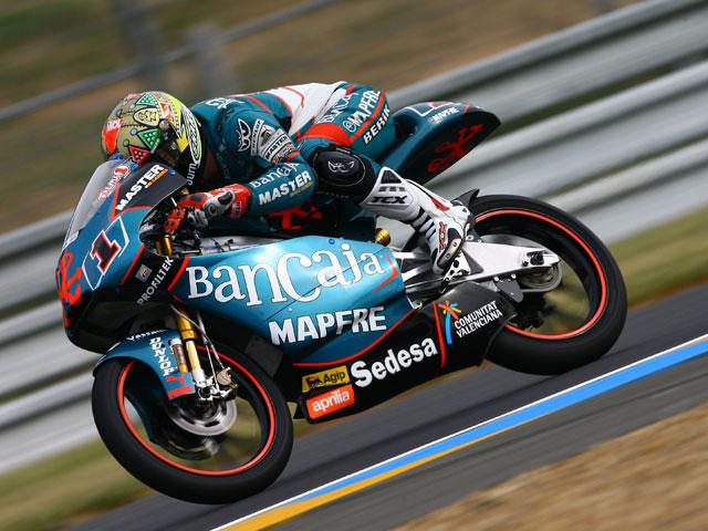 Espargaró (Derbi) comienza bien el Gran Premio de Italia