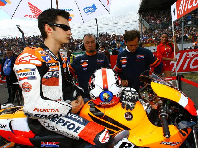 Okada estrenará en Mugello el motor de válvulas neumáticas de Honda