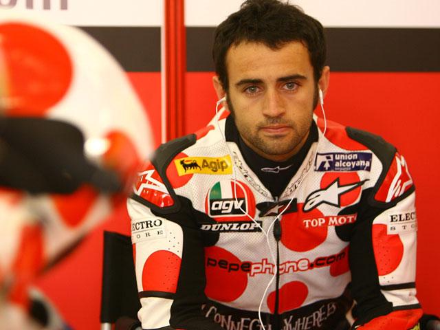 Pasini (Aprilia), pole provisional en el Gran Premio de Italia