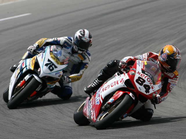 Primera victoria de Checa (Honda) en el Mundial SBK