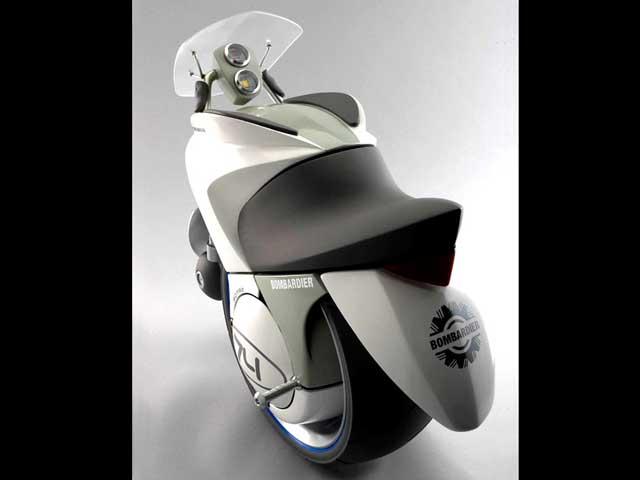 Los monociclos llegan al mercado de las motos
