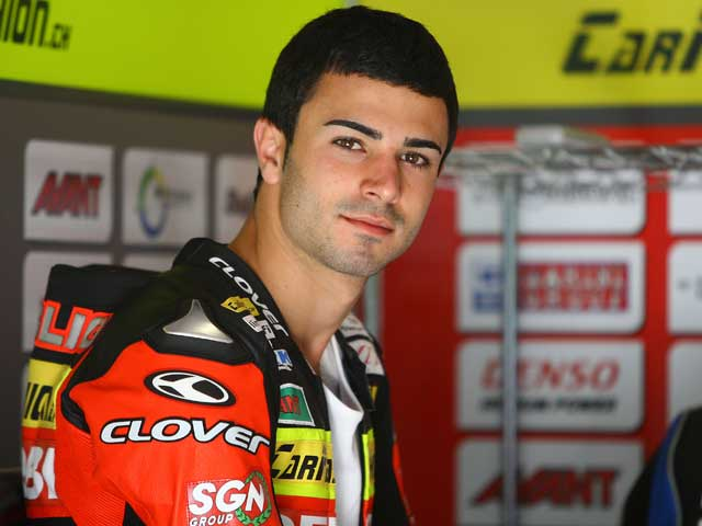 Pol Espargaró (Derbi), pole provisional en 125