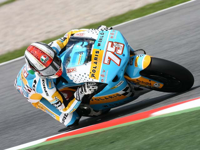 Bautista (Aprilia), mejor tiempo en los primeros conometrados del GP de Cataluña