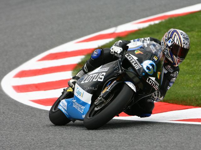 A. Bautista (Aprilia) consigue la pole de 250cc en Montmeló