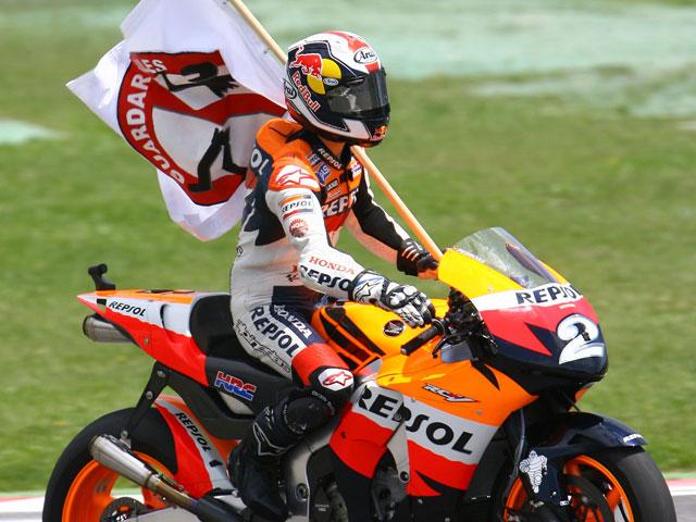 """Dani Pedrosa (Honda): """"La afición es increíble, podía oir como me animaban"""""""