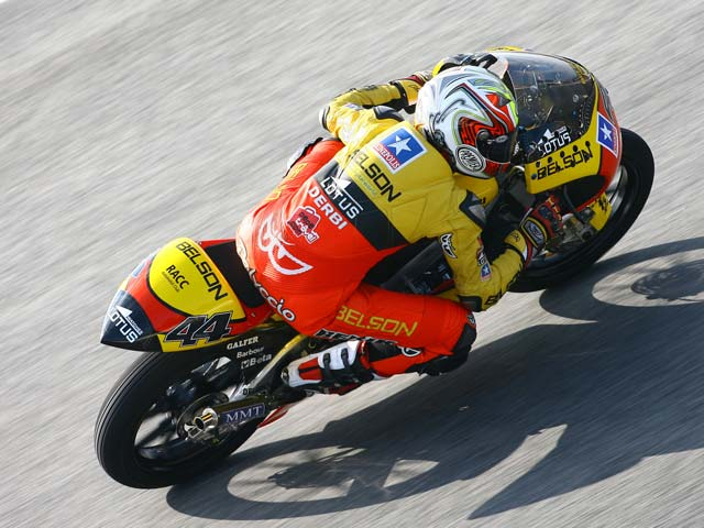 Di Meglio (Derbi), victoria en el Gran Premio de Cataluña. Espargaró, segundo