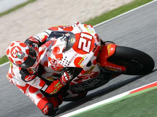Imagen de Galeria de Simoncelli (Gilera) gana en el Gran Premio de Cataluña. Bautista, segundo
