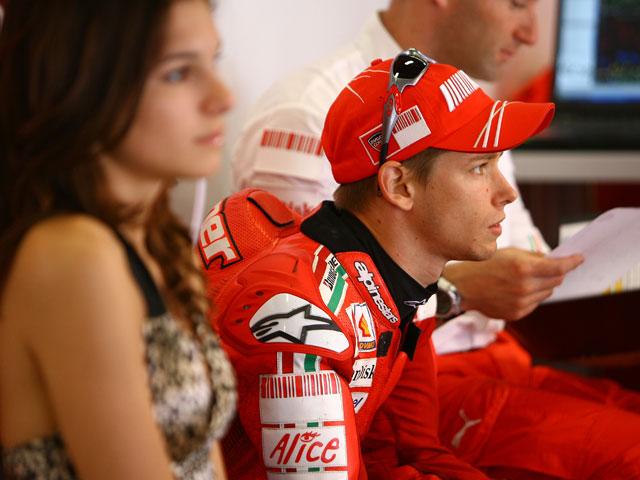 """Rossi (Yamaha): """"Trataba de que Dani me recortara los mínimos puntos posibles"""""""