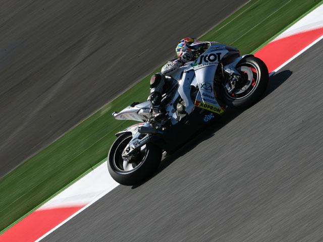 Casey Stoner (Ducati), el más rápido en el adiós de Montmeló a MotoGP