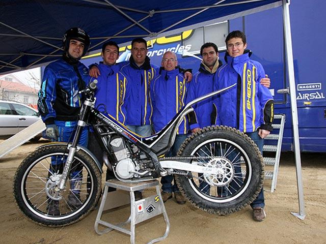 Sherco presenta su gama 2007 en Andorra