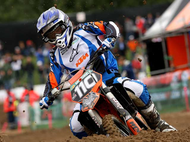 Jonathan Barragán (KTM), a por todas