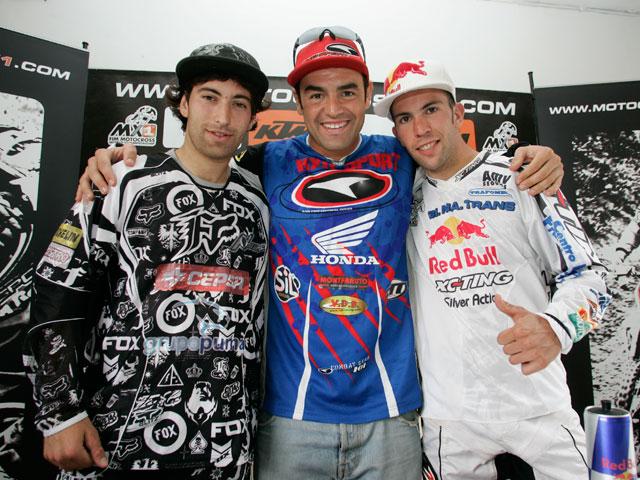 Imagen de Galeria de Barragán (KTM) y Campano (Yamaha), a por el liderato