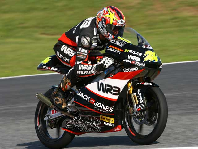 Imagen de Galeria de Simone Corsi (Aprilia), pole provisional en 125 cc