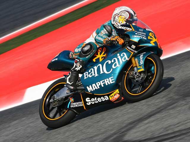 Simone Corsi (Aprilia), pole provisional en 125 cc