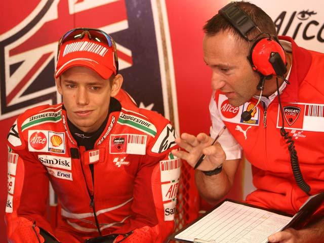 """Imagen de Galeria de Casey Stoner: """"Hemos mejorado el chasis de la Ducati"""""""