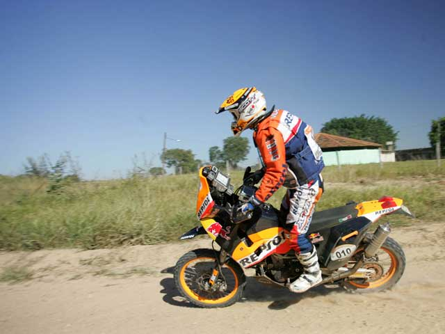 Marc Coma (KTM), tercero en la segunda etapa del Dos Sertoes