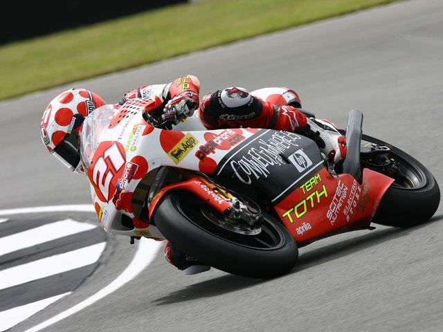 Álvaro Bautista (Aprilia), única pole española en el Gran Premio de Gran Bretaña