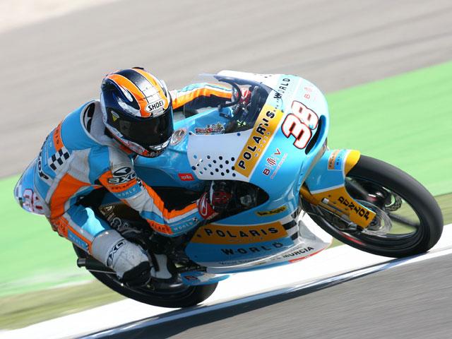 No se mejoran los tiempos de ayer y Simone Corsi (Aprilia) saldrá desde la pole