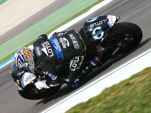 Bautista y Barberá, con Aprilia, los más rápidos en el Gran Premio de Holanda